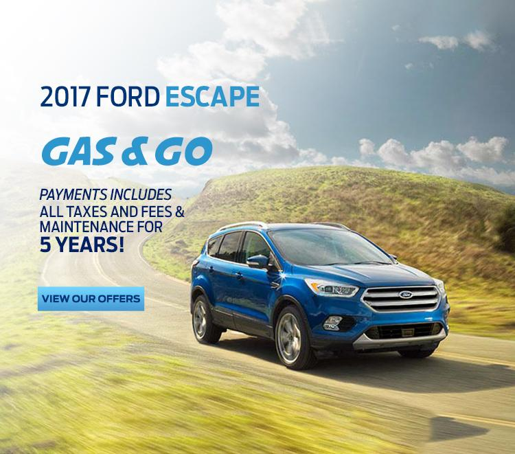 2017 Escape Gas and go