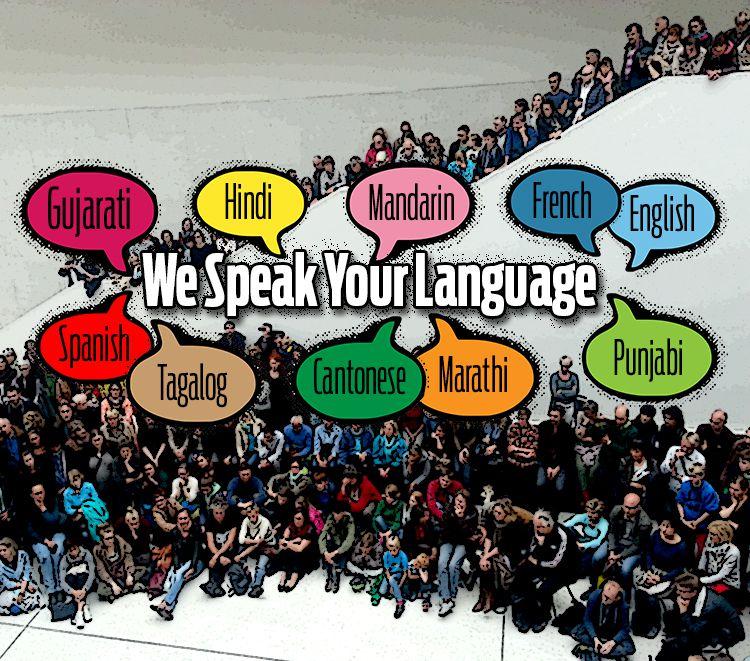 We Speak Your Language mobile