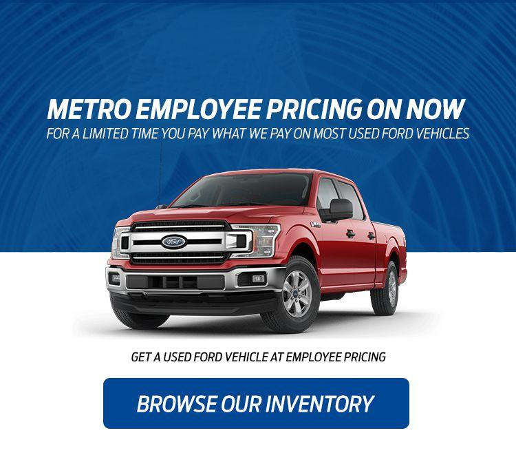 Metro Ford Employee Pricing
