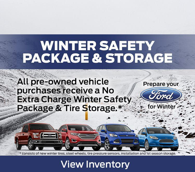 Pre-owned winter package