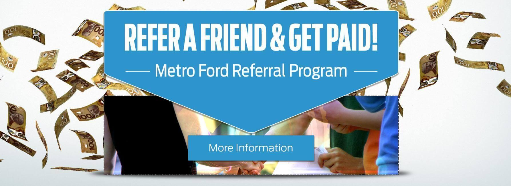 Refer a fiend and get paid