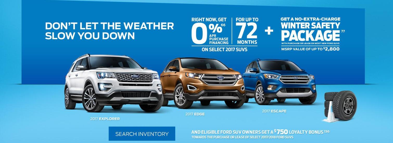SUV winter offer
