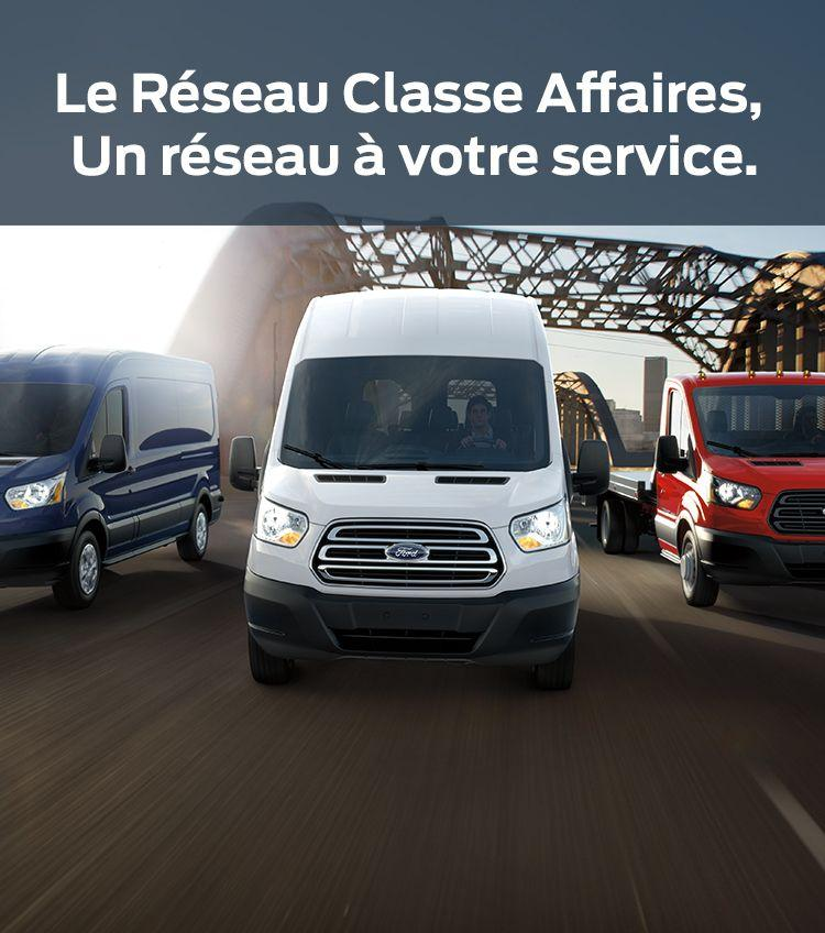 Ford RCA commercial parc camion