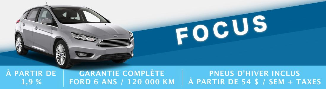 ford focus demo liquidation