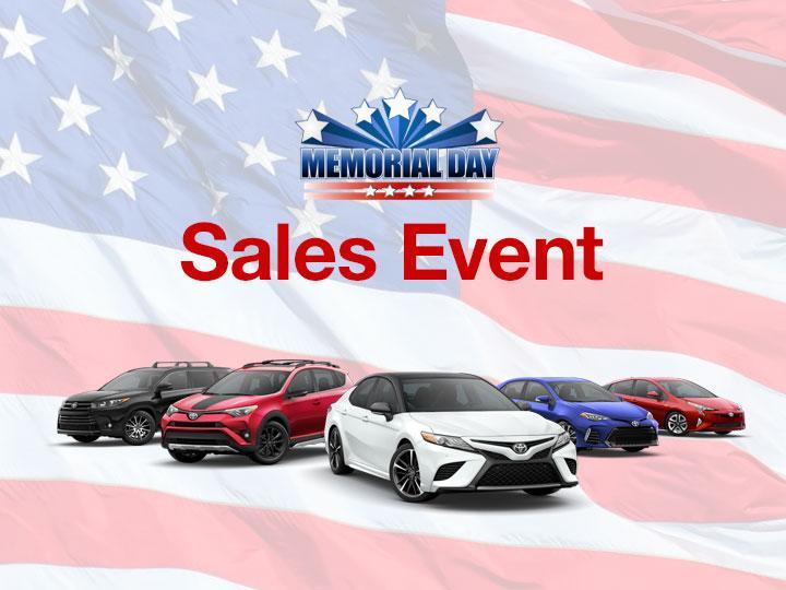 Toyota Sales Event