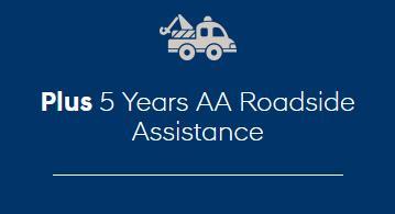 5 Years AA Roadside Assistance
