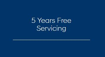 5 Years Free Servicing