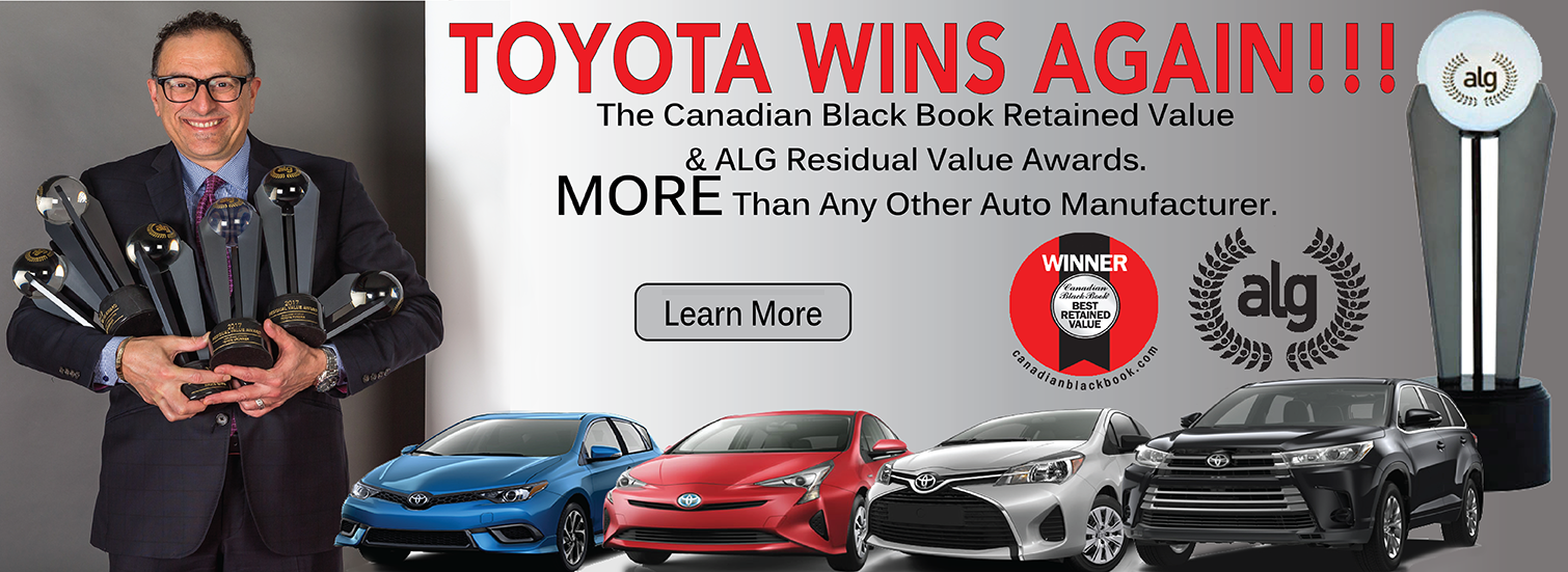 Toyota Wins Again