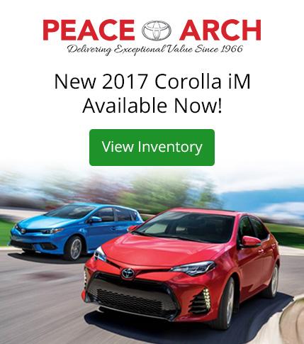 Peace Arch Toyota - 2017 Corolla iM