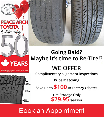 Peace Arch Toyota - Tire Season