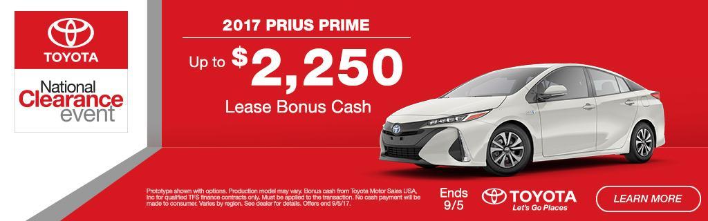 2017 Toyota Prius Prime Special