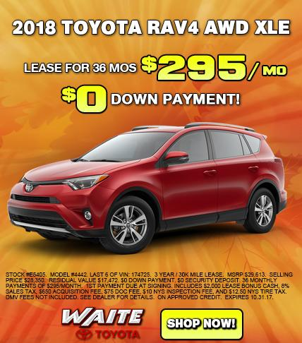 Shop 2017 Toyota RAV4 in Watertown NY