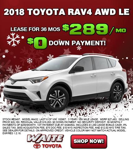 Shop 2018 Toyota RAV4 in Watertown NY