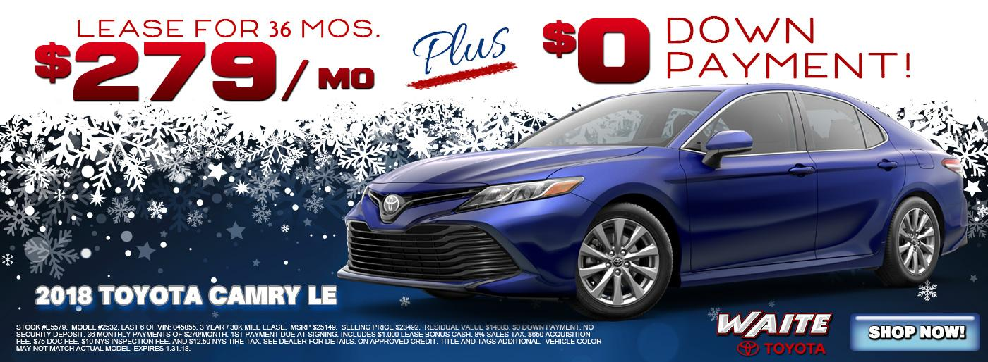 Shop 2018 Toyota Camry in Watertown NY