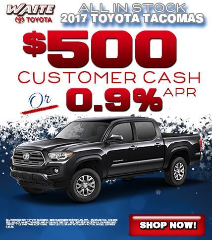 Waite Toyota 2017 Toyota Tacoma