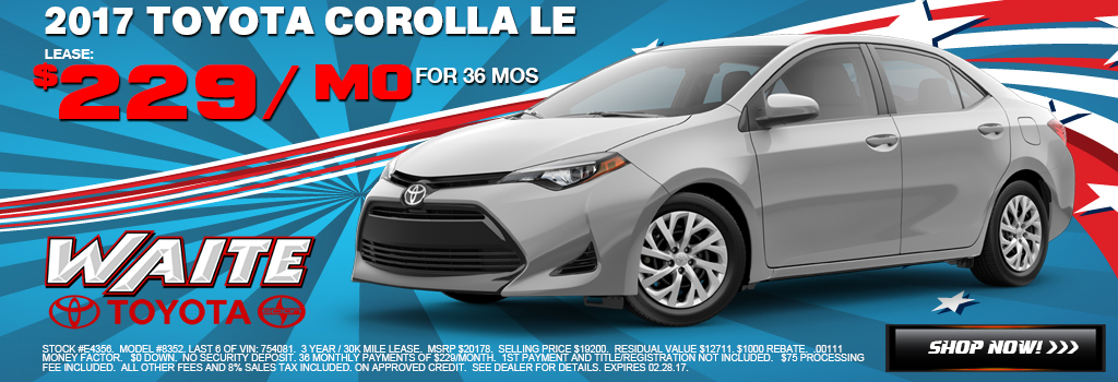 Toyota Corolla Watertown NY