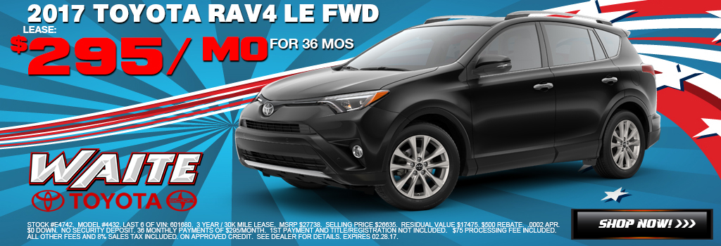 Toyota Rav4 Watertown NY