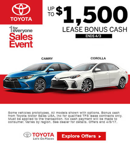 Toyota Sales Event