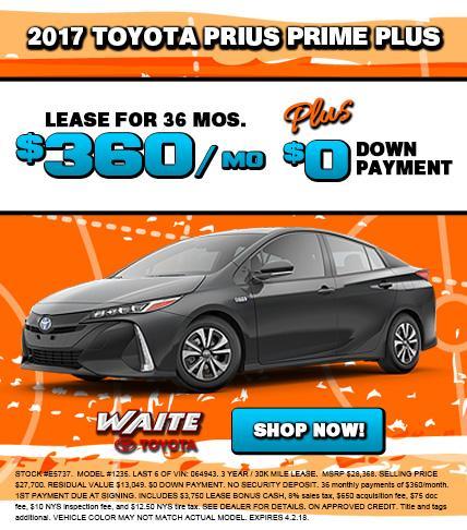 Toyota Prius Prime Plus