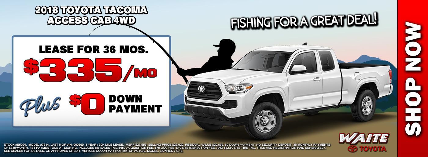 2018 Toyota Tacoma Access Cab 4WD