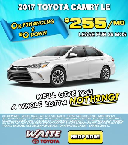 Shop 2017 Toyota Camry LE