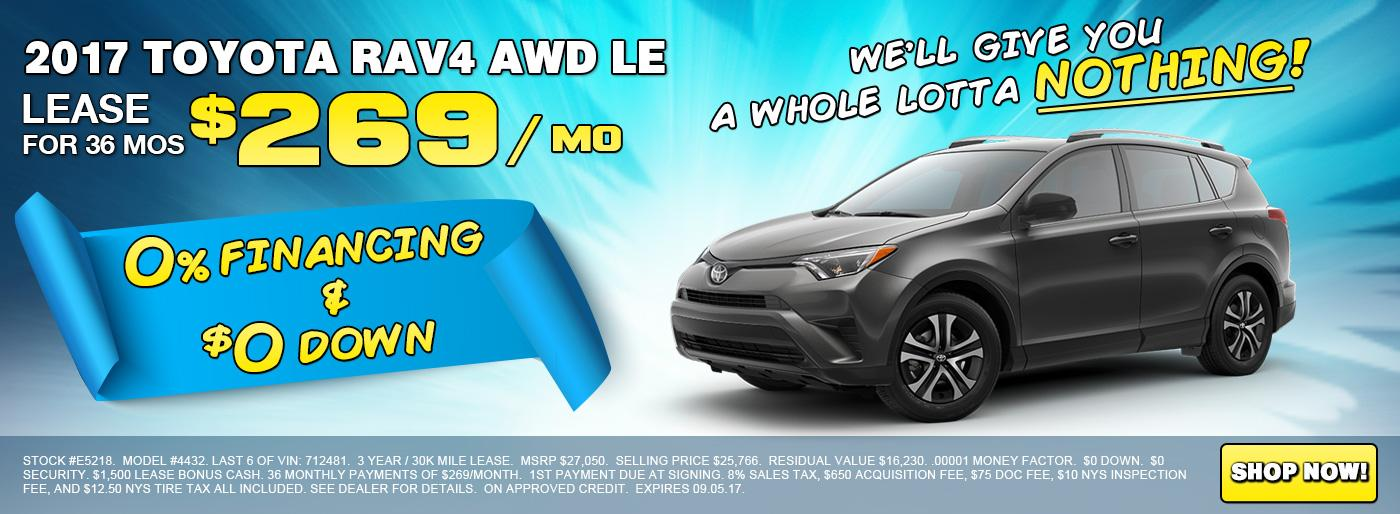 Shop 2017 Toyota AWD RAV4 LE