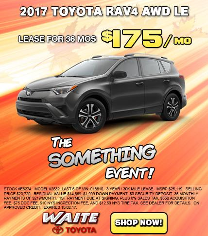 Shop 2017 Toyota RAV4 LE in Watertown, NY