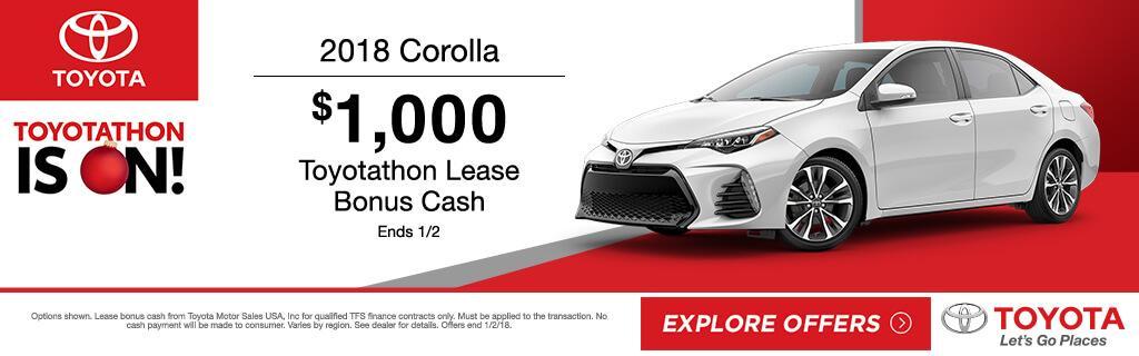 2018 Toyota Corolla Special