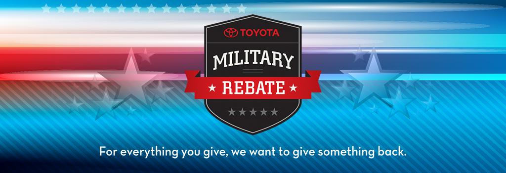 Toyota Military Discounts