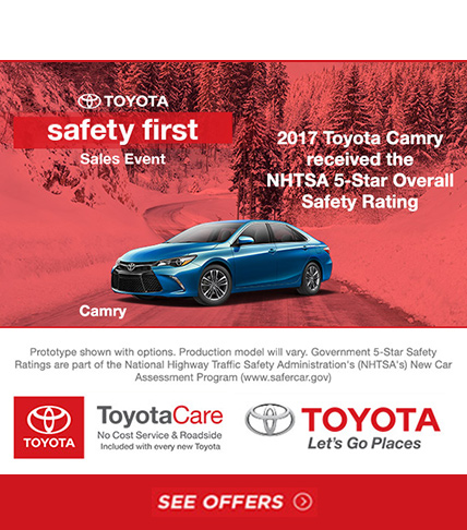 Toyota Camry Sales Event