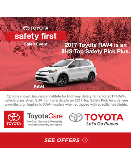 Toyota RAV-4 Sales Event