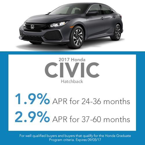 Civic Hatchback Finance Special