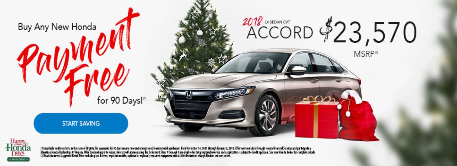 2018 Accord Offer