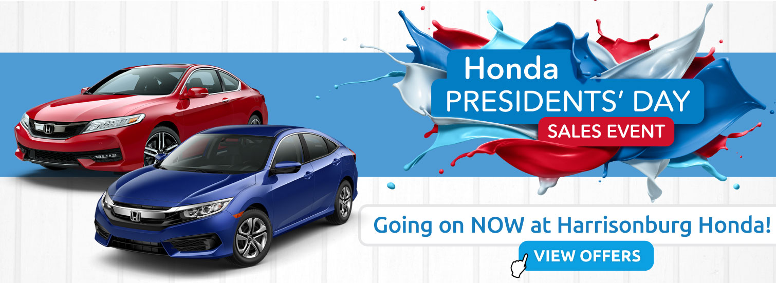 Presidents Day Sales Event at Harrisonburg Honda