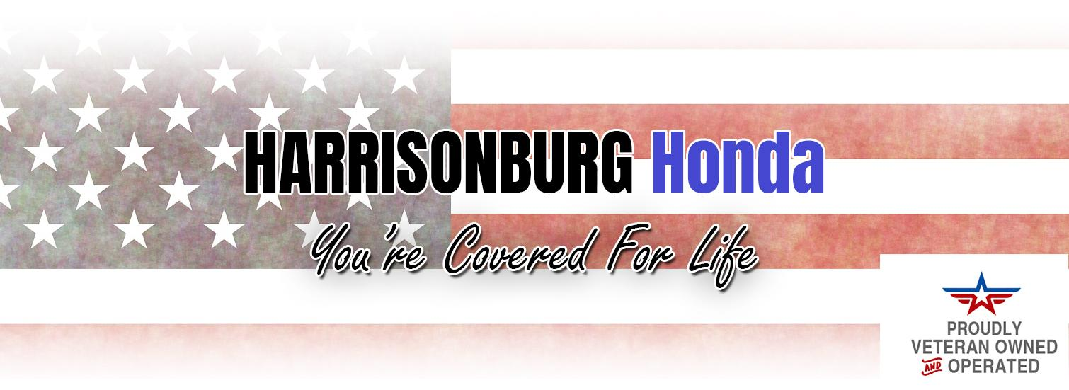 Harrisonburg Honda - Veteran Owned and Operated