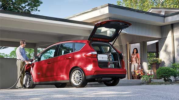 2016 Ford C-MAX Energi Exterior Rear End
