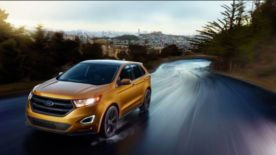 2016 Ford Edge Exterior Front End