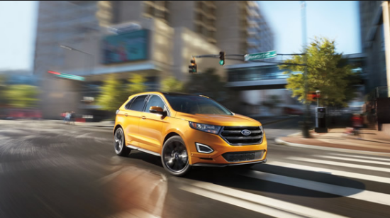 2016 Ford Edge Exterior Side View