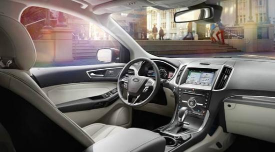 2016 Ford Edge Interior Dashboard