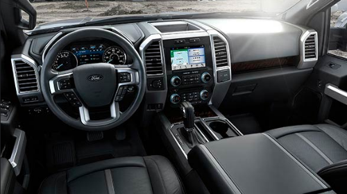 2016 Ford F-150 Limited Interior Dashboard