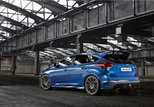 2016 Ford Focus RS Exterior Rear End