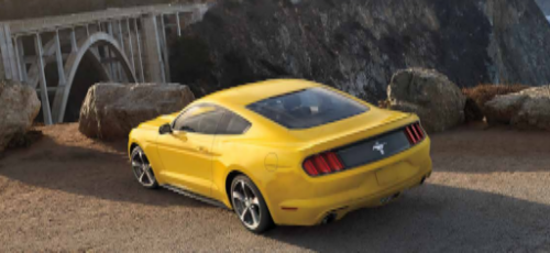 2016 Ford Mustang Shelby Exterior Rear End