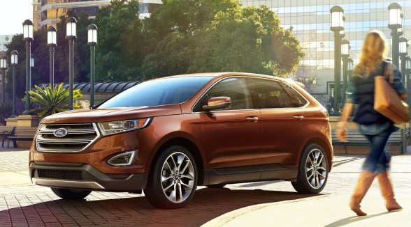 2017 Ford Edge Exterior Front End
