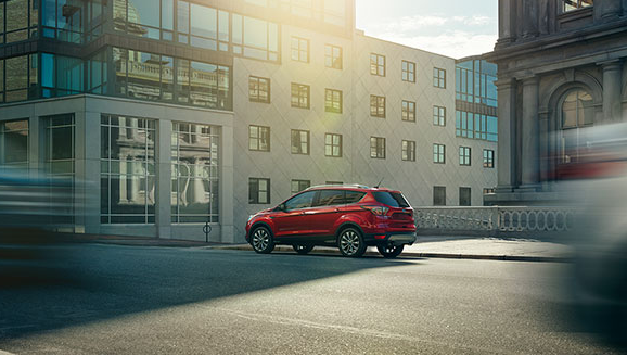 2017 Ford Escape Exterior Side View