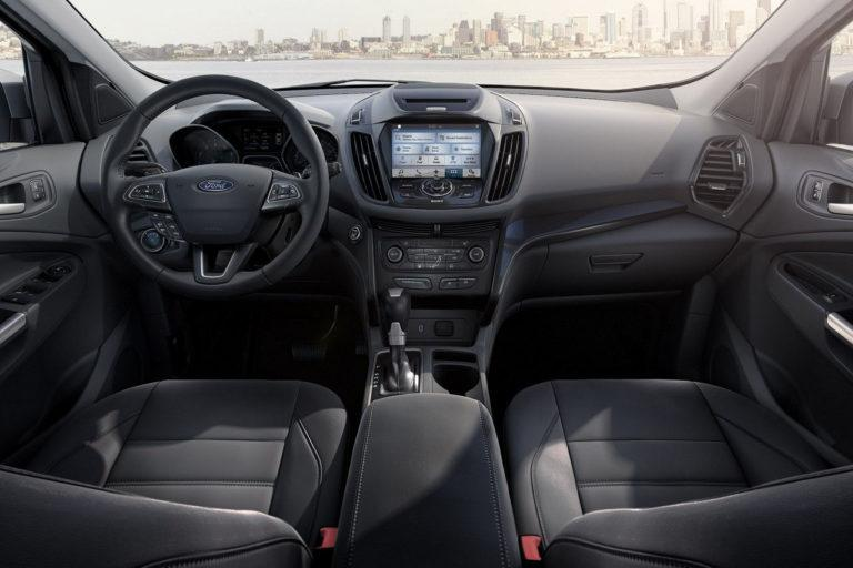 2016 Ford Escape Titanium Interior Dashboard