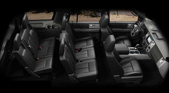 2017 Ford Expedition Interior Seating