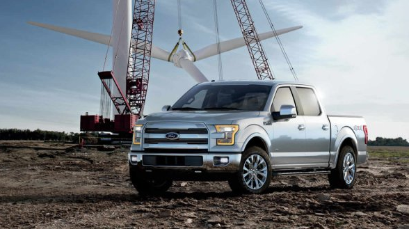2017 Ford F-150 Exterior Side View