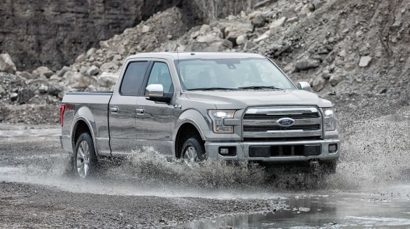 2017 Ford F-150 Exterior Front End