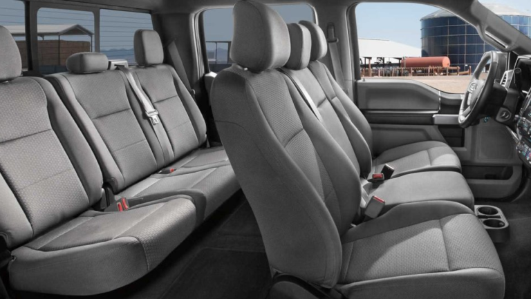2017 Ford F-150 XLT Interior Seating