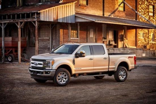 2017 Ford F 350 King Ranch Exterior Front End